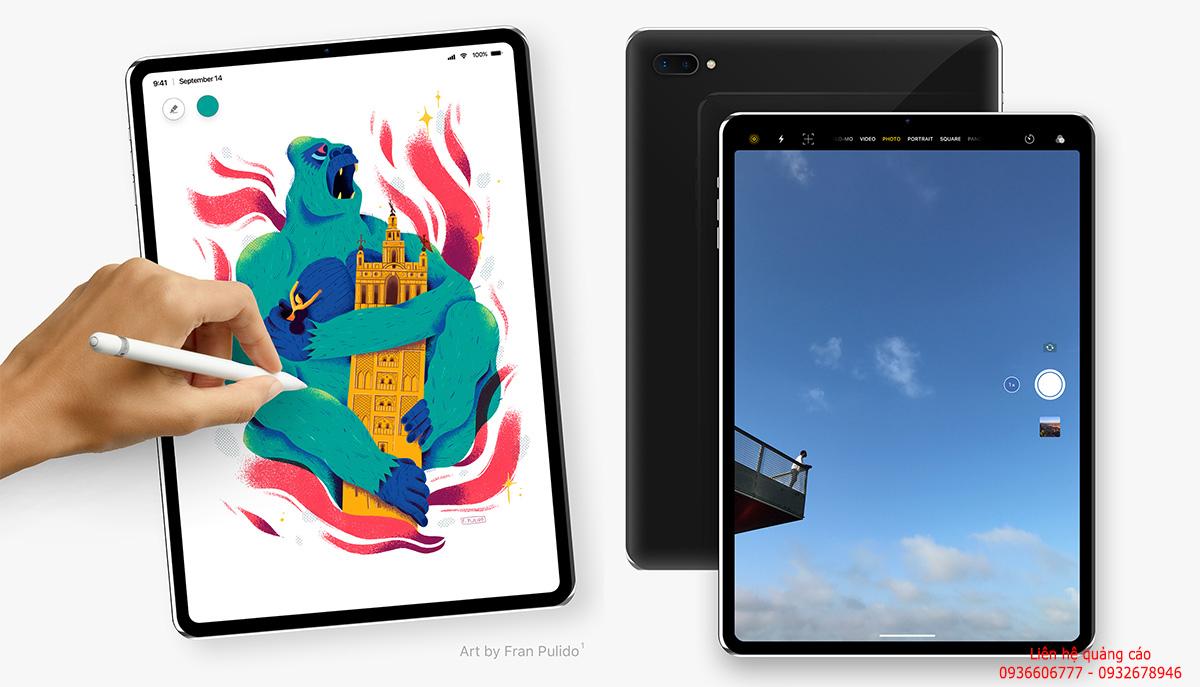 iPad Pro 2018 có thể mang thiết kế viền mỏng, không 'tai thỏ'