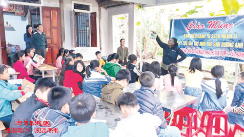 """""""Ngôi nhà trí tuệ"""" cho trẻ em nông thôn"""