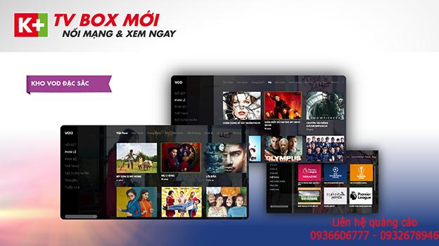 Ra mắt K+ TV Box trên toàn quốc với giá ưu đãi và trải nghiệm kênh mới đặc sắc trên K+