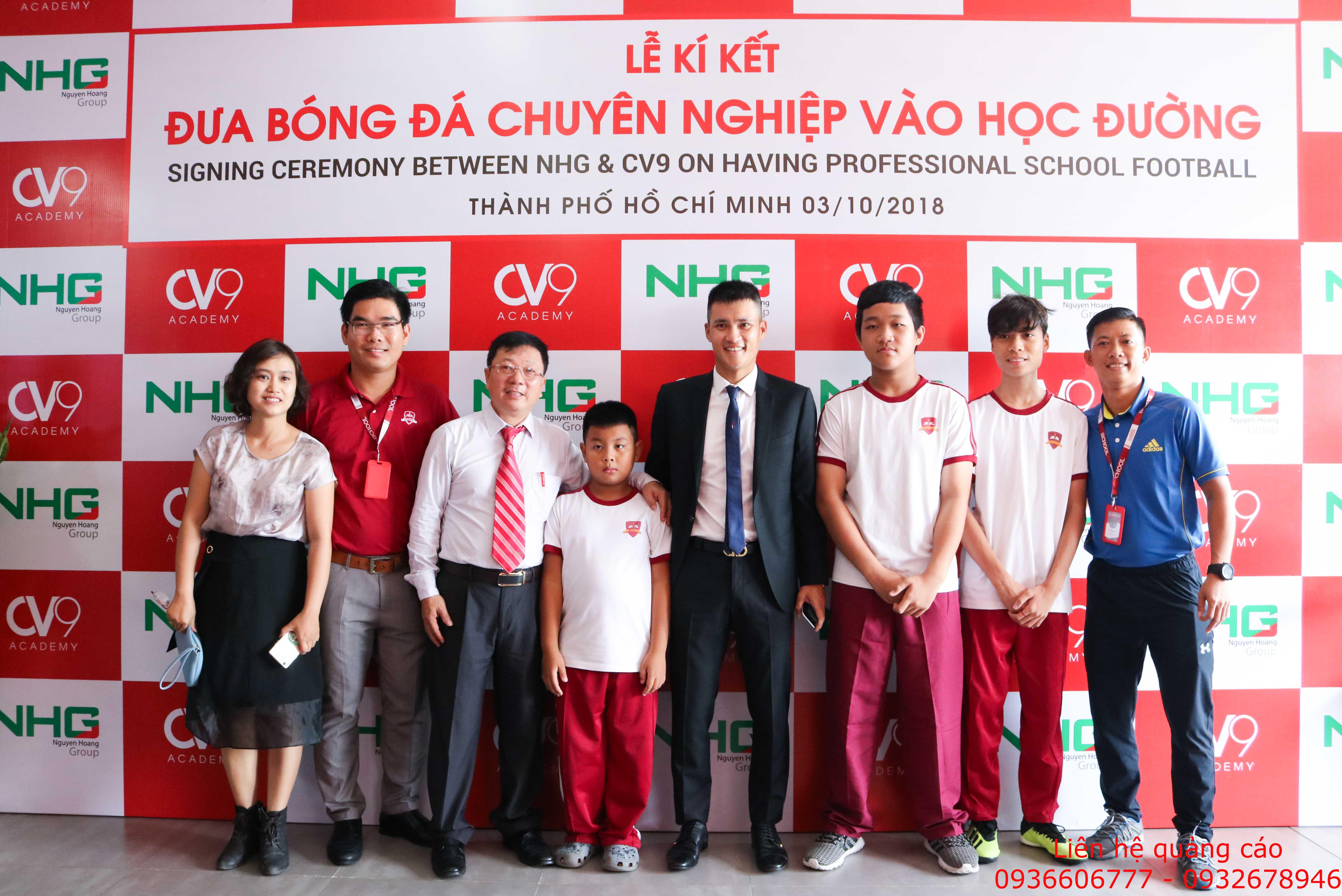 Công Vinh làm Chủ tịch bóng đá học đường