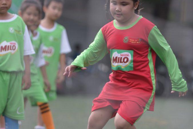 118 trường tiểu học tranh tài chung kết Festival bóng đá học đường năm học 2018-2019