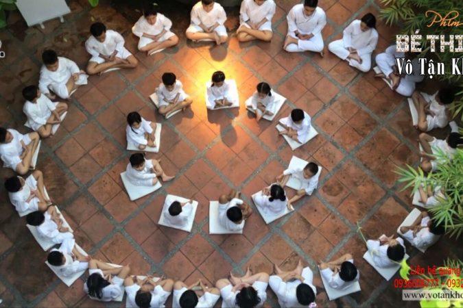 Thiền là nền tảng vững vàng cho bé!