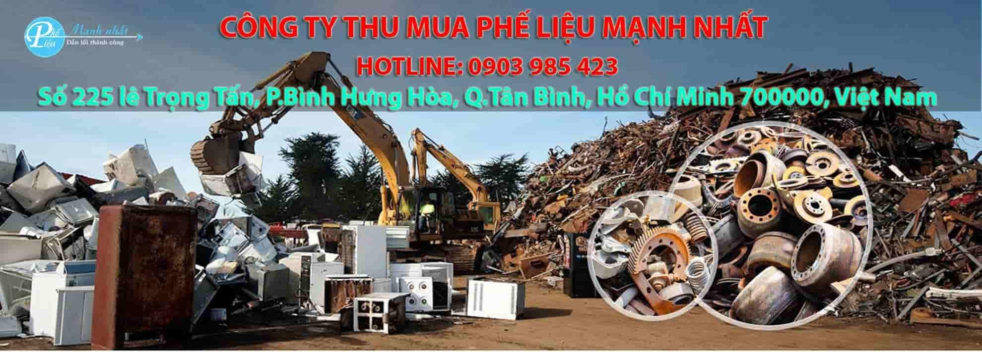 Công ty thu mua phế liệu Mạnh Nhất - Uy tín, giá cao tại Tphcm