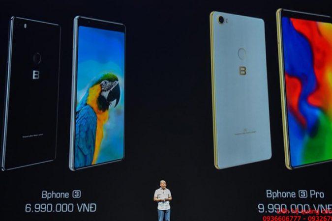 Bphone 3 có màn hình tràn đáy, giá từ 6,99 triệu đồng