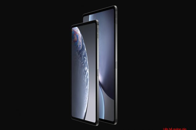 Bản mẫu iPad Pro 2018 – màn hình tràn viền, hỗ trợ Face ID