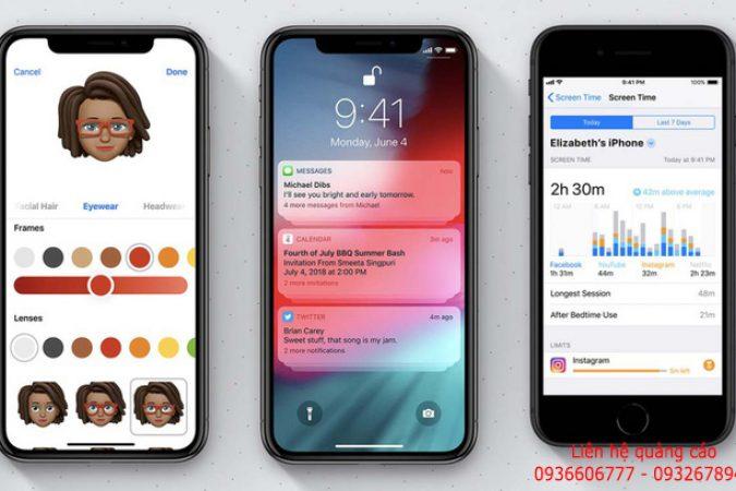 Apple chính thức tung ra IOS 12 vào lúc 0h đêm nay