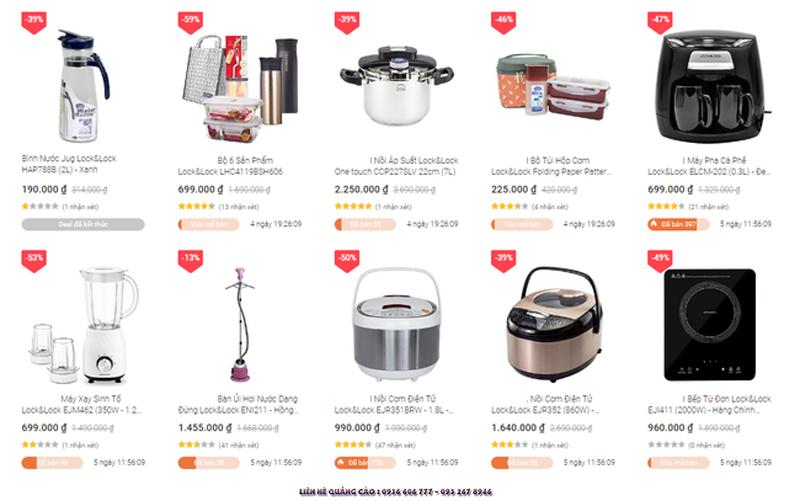 Săn sale cuối tuần - Các thương hiệu đồ gia dụng đồng loạt giảm giá