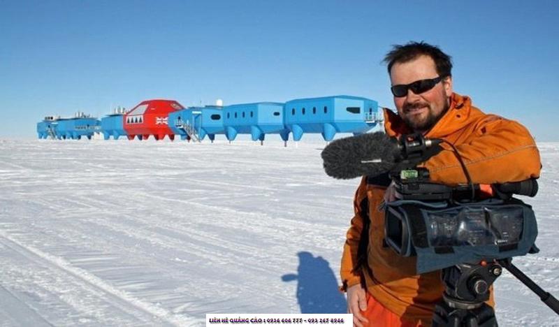 """tác phẩm kinh dị """"South of Sanity"""" là bộ phim giả tưởng đầu tiên hoàn toàn quay ở Nam Cực"""