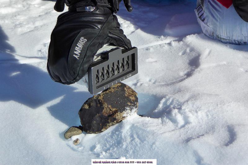 Châu Nam Cực là nơi dễ phát hiện thiên thạch nhất do khí hậu khô, lạnh giúp bảo tồn các vật thể này