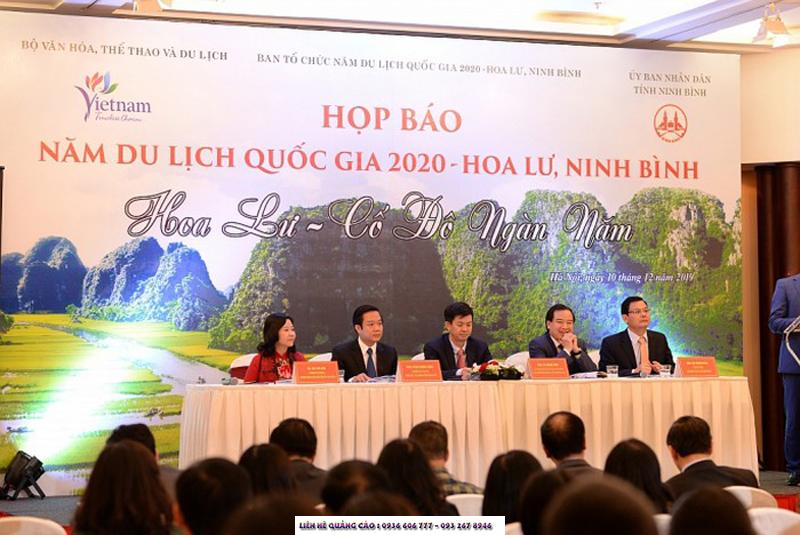 """Lễ khai mạc """"Năm Du lịch quốc gia 2020""""   Hoa Lư - Ninh Bình"""
