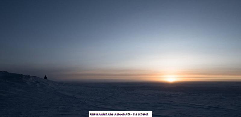 Ở Nam Cực, nhiều khi chẳng biết là ngày hay đêm