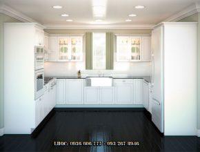 Một số cách bố trí phòng bếp phổ biến, được yêu thích nhất