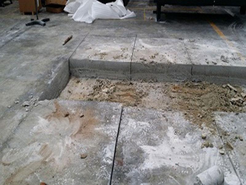 Vì sao phải cắt bê tông nền nhà xưởng