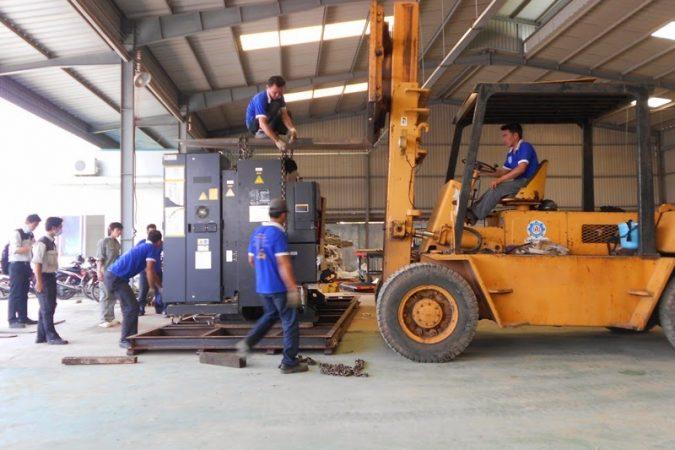 Dịch vụ chuyển kho xưởng giá cả cạnh tranh