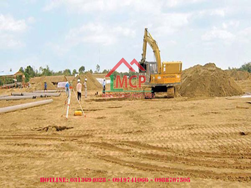 The latest quotation of concrete sand pouring May 9 2020