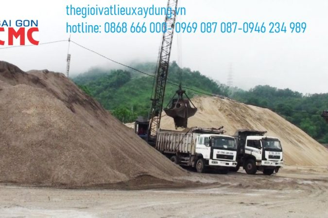 Đơn vị Sài Gòn CMC cung cấp cát xây dựng mới nhất năm 2020