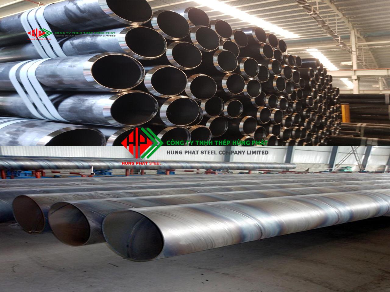 Phân loại ống thép đúc – Ống thép hàn
