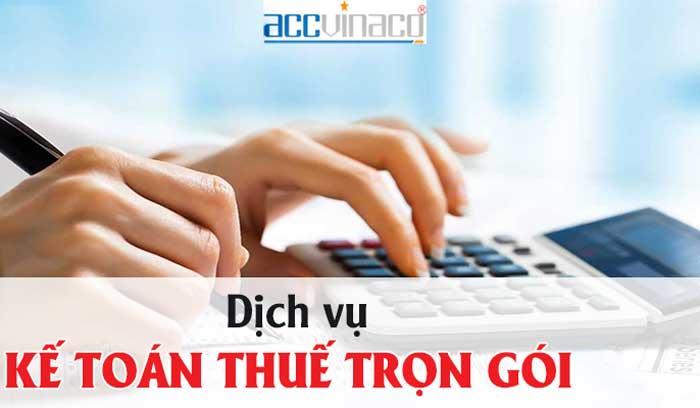 Dịch vụ kế toán thuế quận Tân Bình