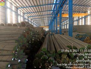 Báo giá thép xây dựng Việt Nhật giá ưu đãi